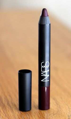 Matte velvet lip pencil Nars - train bleu / DONE, yihaaa !