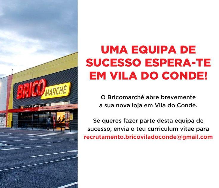 """<p>Se queres fazer parte desta equipa de sucesso, envia o teu Curriculum vitae para<span style=""""text-decoration: underline;""""><strong><a href=""""mailto:recrutamento.bricoviladoconde@gmail.com"""">recrutamento.bricoviladoconde@gmail.com</a></strong></span>.</p>"""