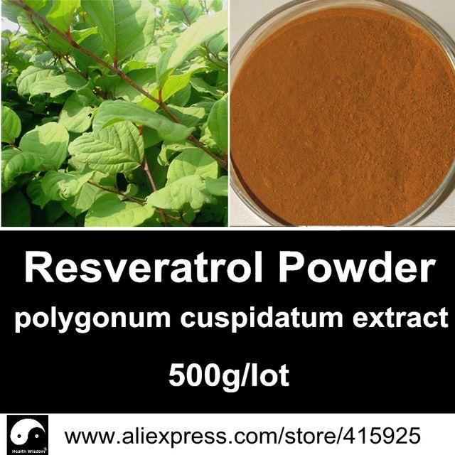 Pure Natural Polygonum Cuspidatum Extract Powder Resveratrol 25% Anti-aging Antioxidant Health Dietary Supplements