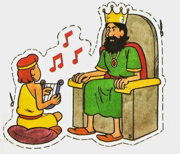 David y Goliat titeres 10