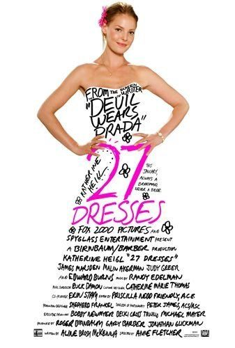 This movie is always a classic. I love Katherine Heigl and I def love dresses.