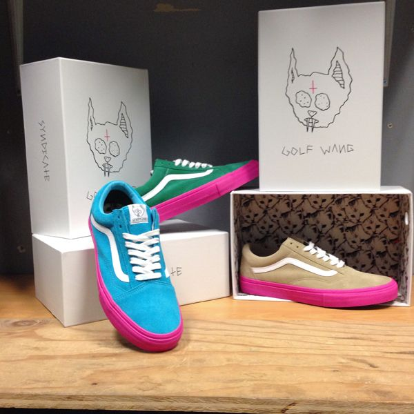 9a9fb82d9d2c Vans X Golf Wang Syndicate