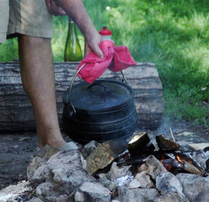 Cooking in the outdoors – try this simple one-pot Campfire Cassoulet - Nourish