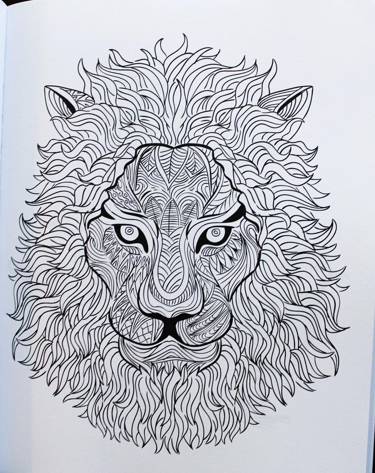 Awesome Animals Volume 2 A Stress Management Coloring Book For Adults Adult Books