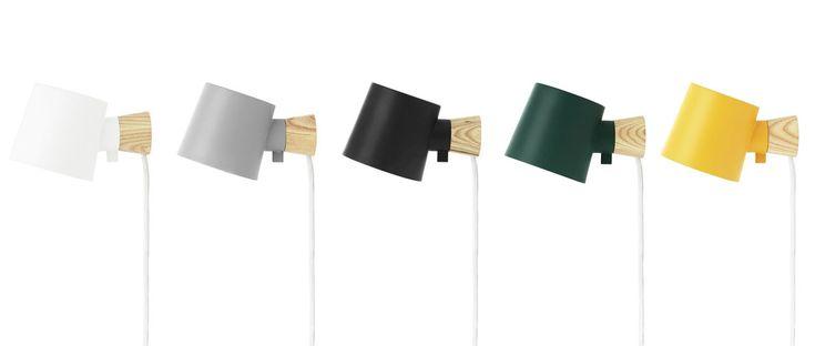 Rise Wall Lamp from Normann Copenhagen - Design Milk