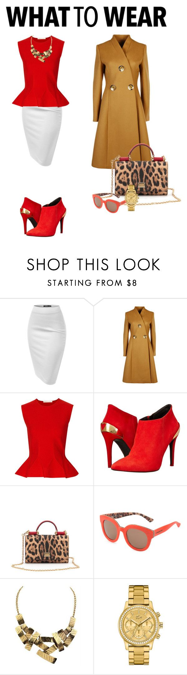 What to wear: black friday shopping by adriana-claudia on Polyvore featuring Antonio Berardi, STELLA McCARTNEY, Love Moschino, Lacoste, Dolce&Gabbana and shoptilyoudrop