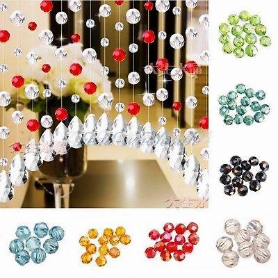 Ingrosso-glasslperlen-cristallo-vetro-perline-di-vetro-smerigliato-Rondell-sfaccettature-Perle-4-6-8