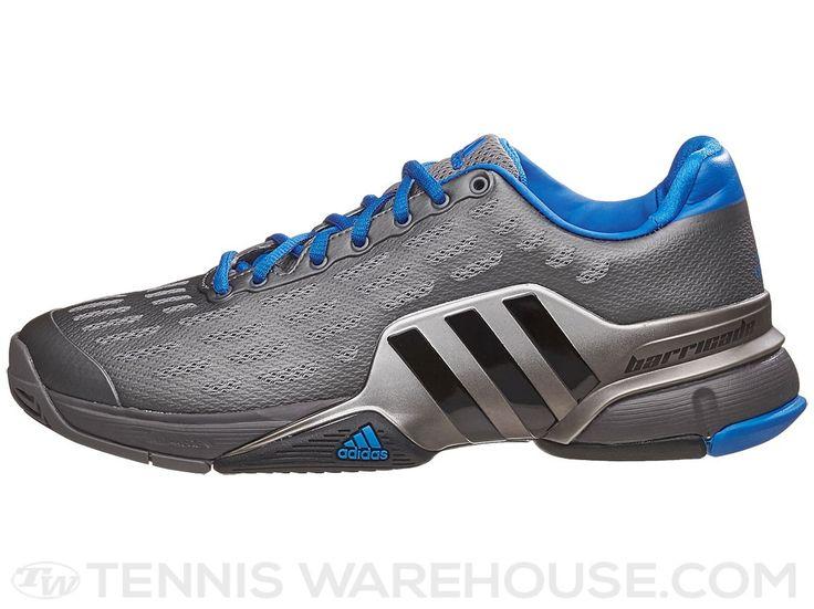 adidas Barricade 2016 Grey/Royal Men's Shoe