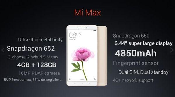 Представлен смартфон Xiaomi Mi Max с 6,44-дюймовым дисплеем Представлен смартфон Xiaomi Mi Max с 6,44-дюймовым дисплеем Xiaomi Mi Max получил экран в 6,44 дюйма и очень емкую батарею. Китайская компания Xiaomi официально представила новый фаблет Mi Max с 6,44-дюймовым экраном, сообщает GSM Arena. По утверждению производителя, несмотря на свой внушительный размер, устройство очень удобно держать в руке. IPS LCD дисплей с разрешением в 1080p позволит наиболее полноценно использовать размер…