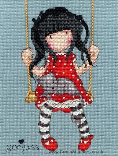 Gorjuss - Ruby - Cross Stitch Kit from Bothy Threads