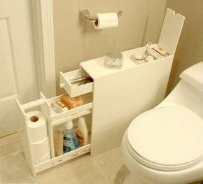 Самодельный шкафчик для ванной