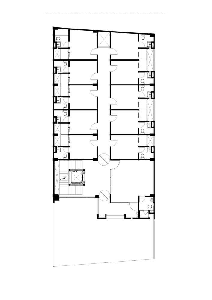Gallery Of The Kois Living Ruangrona 18 House Design Gallery Boarding House