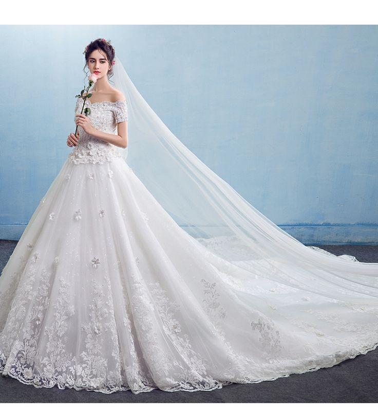 243 best Wedding Dress images on Pinterest | Ballroom dress ...