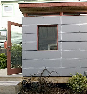26 best modern house exterior siding images on pinterest for Modern home exterior siding