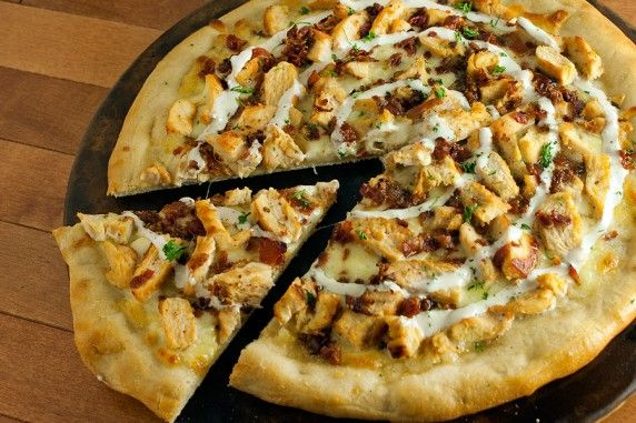 Chicken/Bacon/Ranch Pizza... the three best toppings combined to form one amazing creation.