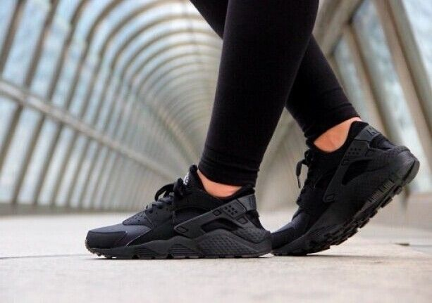 Nike Huarache On Feet Women