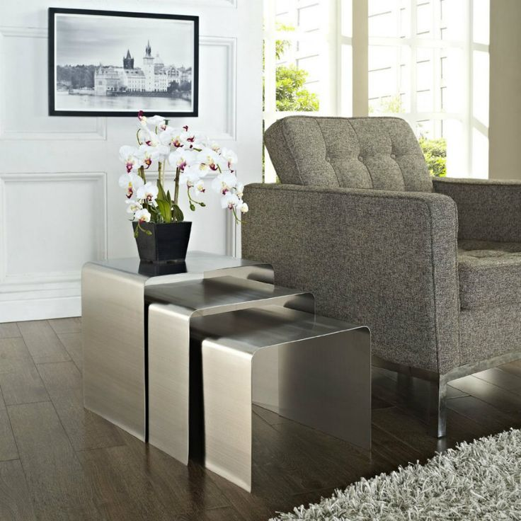 51 Best Nesting Side Tables Images On Pinterest  Nesting Tables Fair Side Tables For Living Room Review