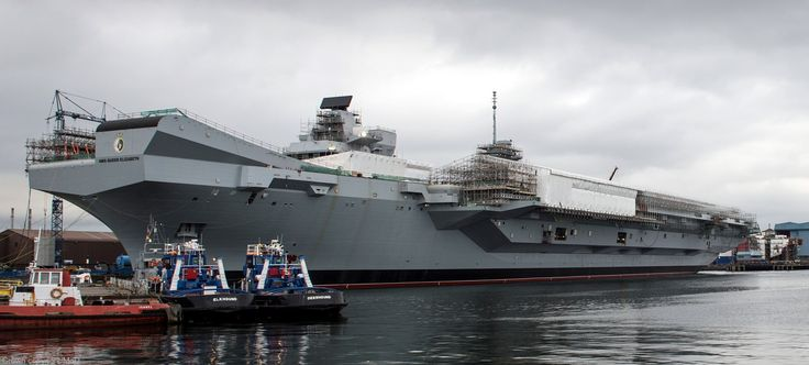 HMS Queen Elizabeth R 08 aircraft carrier Royal Navy
