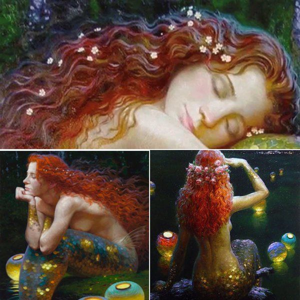 Mermaids by Victor Nizovtsev