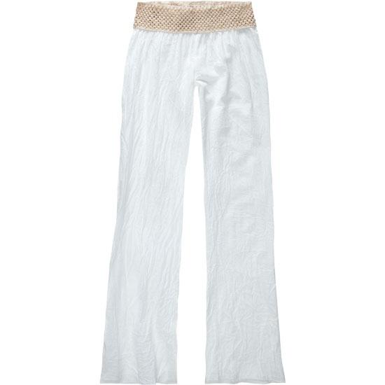 Perfect white beach pant