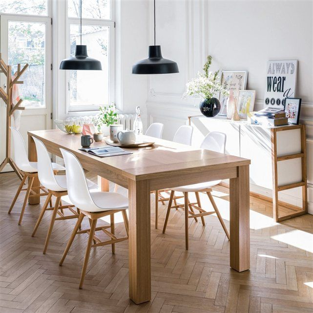 les 25 meilleures id es de la cat gorie tables de salle manger en bois sur pinterest table. Black Bedroom Furniture Sets. Home Design Ideas