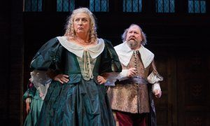 Hull Truck Theatre, Hull UK City of Culture 2017 and Royal Shakespeare Company present The Hypocrite. This production opened at Hull Truck Theatre on 23 February 2017. Caroline Quentin as Lady Sarah Hotham and Mark Addy as Sir John Hotham