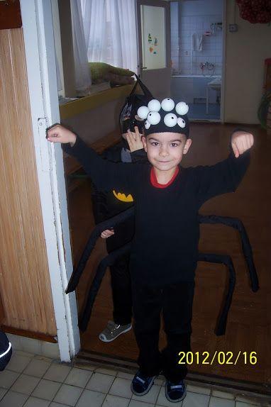 Pók jelmez/spider costume