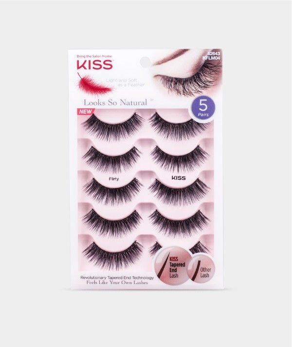 Looks So Natural Lash Multipacks - Flirty - by KISS - Looks So Natural - Brands - Eyelashes