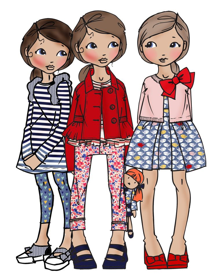159 best images about Kids Fashion Illustration & Artworks ...