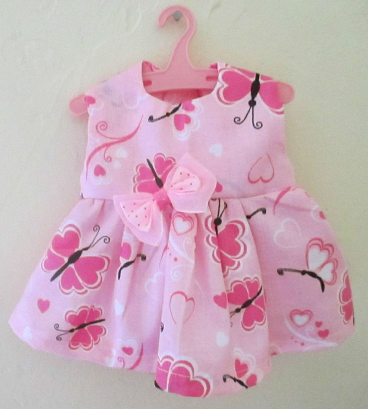 """13"""" Baby Alive Doll Clothes Dress Beautiful Pink"""