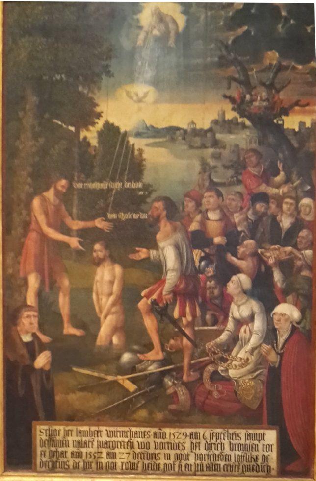Hans Kemmer: Wittinghoff Epitaph of St Marienkirche Lübeck 1552. Museum St. Annen Inv. Nr. 122