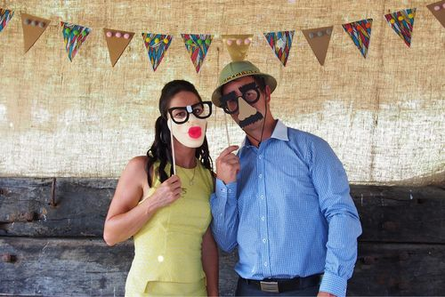 DIY Photo Booth Set for Hire. The Collection – Wedding and Event Vintage Prop Hire, Mornington Peninsula. See the thecollectionvintageprops.com.au for more details and prices. Contact kristy@ thecollectionvintageprops.com.au to book.