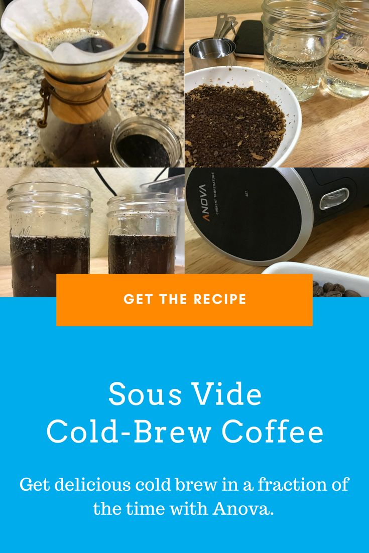 Looking for something refreshing this summer? How about a batch of home-made cold brew made by YOU! This recipe, written by #anovafoodnerd Johnny Gabaldon gives you a step-by-step guide to coffee nirvana. Learn more: