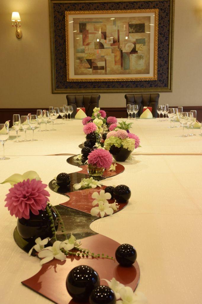 和風の装花 『若宮の杜迎賓館』
