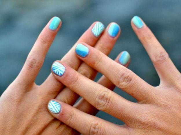 unghie corte colorate - Cerca con Google