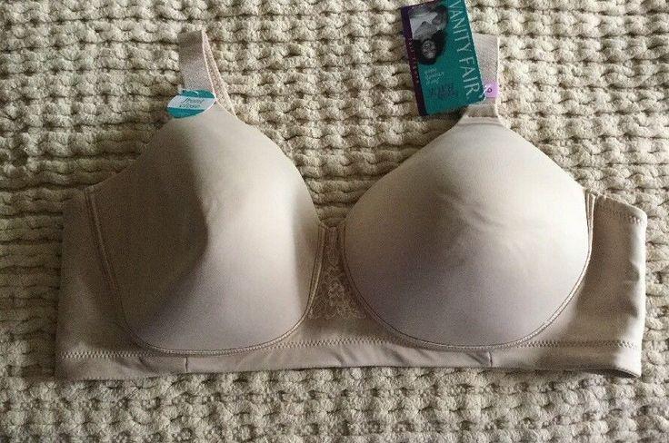 Vanity Fair Women's Bra Beige 71380 Full Figure Size 42D New!!!! | eBay
