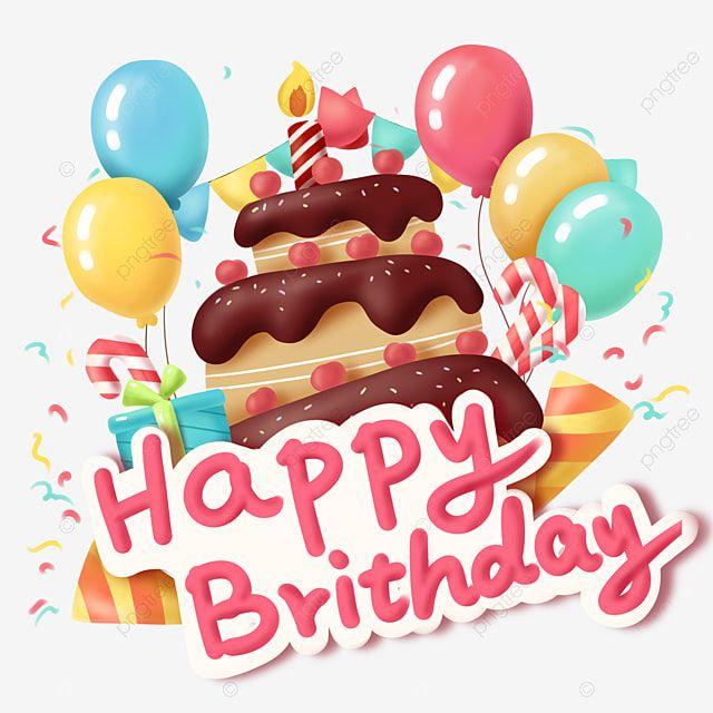 ร ปแบบการตกแต งเค กว นเก ดการ ต นปาร ต น าร ก วาดด วยม อ บอลล นภาพ Png และ Psd สำหร บดาวน โหลดฟร Cartoon Birthday Cake Happy Birthday Images Happy Birthday Fun