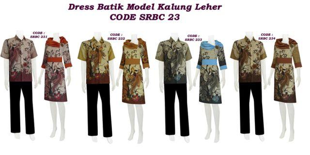 model dress dengan kalung leher, menggunakan bahan semi sutera di kombinasi dengan satin velvet...
