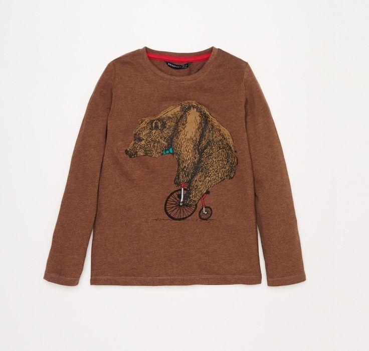 Miś na rowerku :)   #DziecioCiuszek #dziecięce #ubranka #ciuszki #moda #dziecięca #odzież #modadziecięca #bluza #dziecko #dzieci