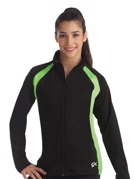 Athletic Fitted Warm-Up Jacket from GK Elite