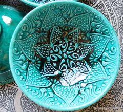Firuze Green ceramic bowls - 10cm - NOMADIC SON