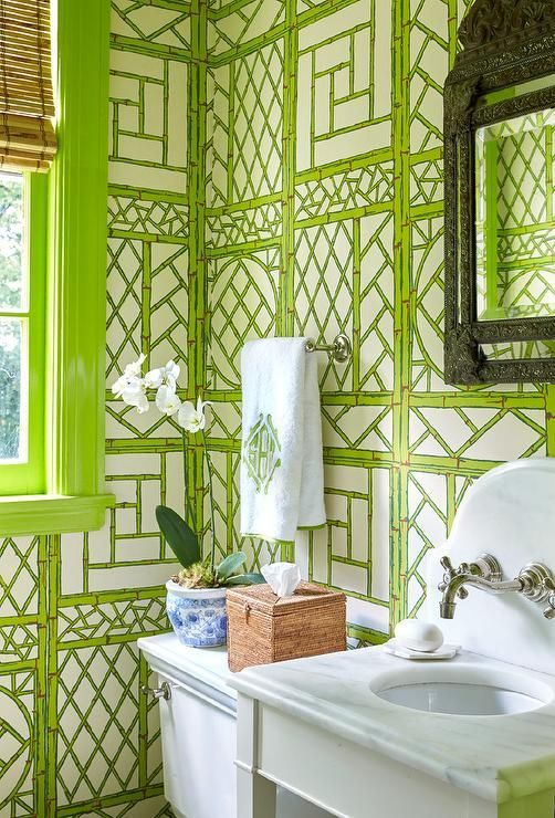 25 best ideas about bamboo wallpaper on pinterest for Bamboo bathroom decorating ideas