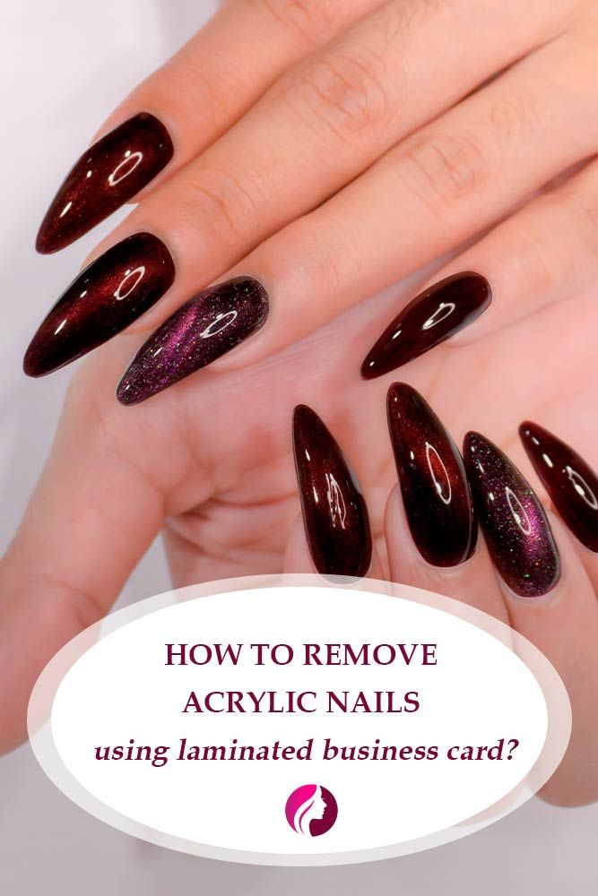Remove Your Acrylic Nails Safely And In No Time Glaminati Remove Acrylic Nails Nails Acrylic Nails At Home