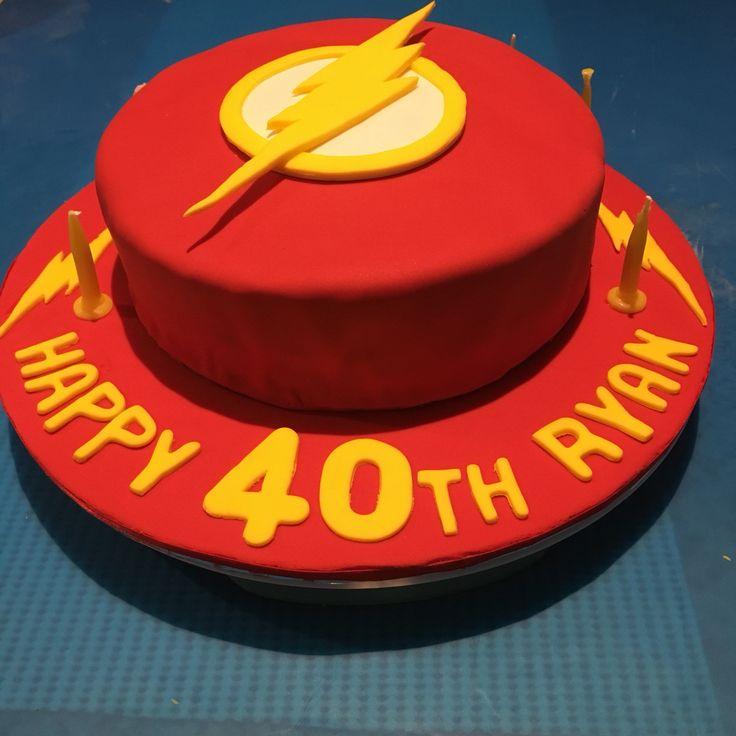 Flash Cake #40thbirthday
