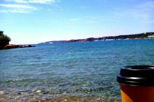 Βουλιαγμένη Ελλάδα  ώρα για καφέ..