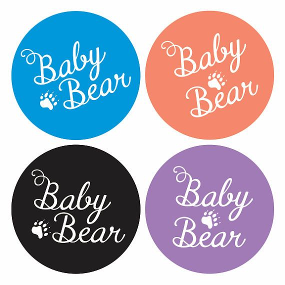 Baby Bear Clipart  SVG file  Iron on Transfer file   Laser