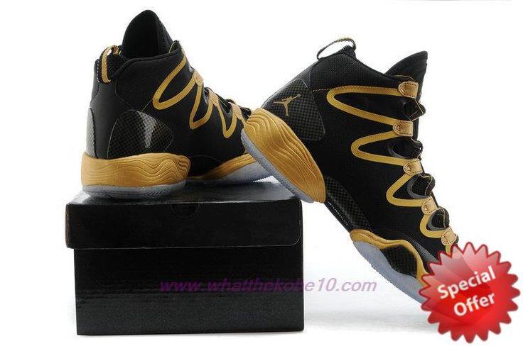 Air Jordan XX8 SE Black/Gold Mens