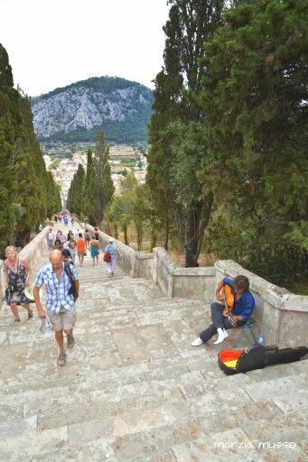 Pollença - Stairway to the calvario