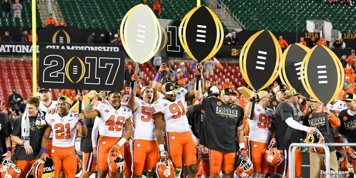 2017 Clemson football schedule released - Clemson Football News - TigerNet