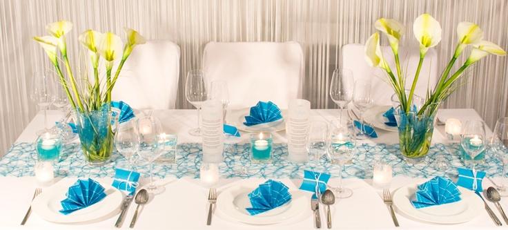 ... Hochzeitstafel - Tischdekoration